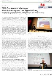PrimaryCare 2011, Nr. 18 - congress-info.ch | Home