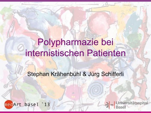 Polypharmazie bei internistischen Patienten