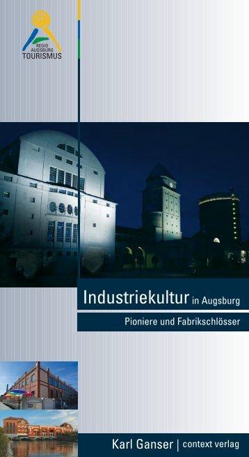 Taschenbuch Industriekultur in Augsburg - context verlag Augsburg