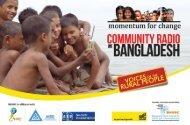 Community Radio in Bangladesh - Momentum for Change
