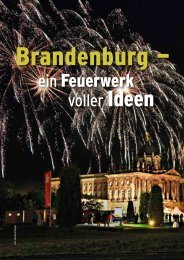 Brandenburg - ein Feuerwerk voller Ideen - Convention-International