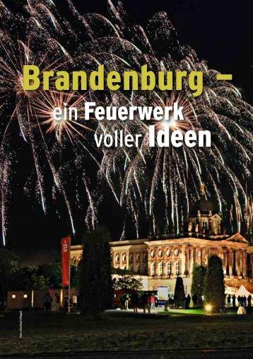 Brandenburg - ein Feuerwerk voller Ideen - Convention-International