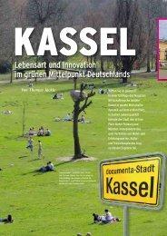 Lebensart und Innovation im grünen Mittelpunkt ... - Kassel Marketing