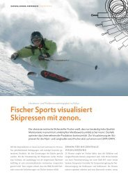 Fischer Sports visualisiert Skipressen mit zenon. - COPA-DATA