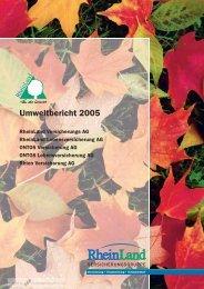 Umweltbericht 2005 - CorporateRegister.com