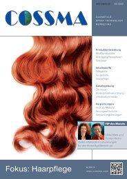 Fokus: Haarpflege - COSSMA