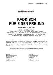 KADDISCH FÜR EINEN FREUND - CRDP