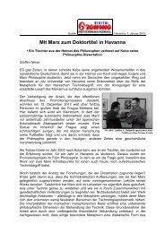 Mit Marx zum Doktortitel in Havanna