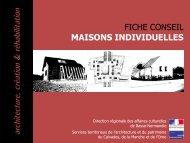 Les maisons individuelles - Ministère de la Culture et de la ...