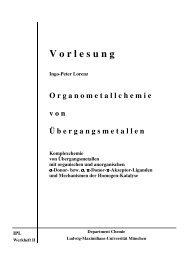 V o r l e s u n g - Ludwig-Maximilians-Universität München