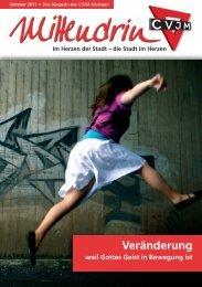 25. Ausgabe - Sommer - CVJM Stuttgart