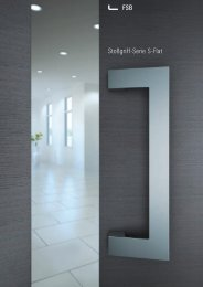 Stoßgriff-Serie S-Flat - Carl Wilh. Meyer GmbH & Co. KG