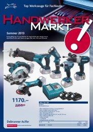 Handwerkermarkt Sommer 2013 D (pdf/2.98MB) - Debrunner Acifer