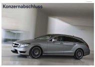 Konzernabschluss für das Geschäftsjahr 2012 - Daimler