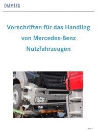 Verladung auf LKW-Transporter - Daimler
