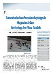 LKC-Saison 2008 / 2009 - Fraueneishockey in Deutschland