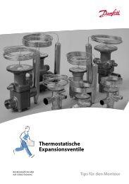 Thermostatische Expansionsventile - Danfoss