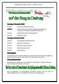Dorfzeitung Dezember 2012 - Februar 2013 - Dasburg - Seite 2