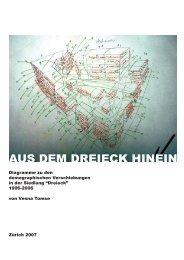 AUS DEM DREIECK HINEIN - Genossenschaft Dreieck