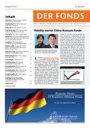 Fidelity Startet China-Konsum-Fonds - Das Investment