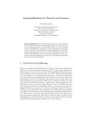 Gegenmaßnahmen in Theorie und Grenzen - Albert-Ludwigs ...