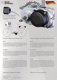 OEM Version D-GB.indd - Daum Electronic