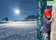 Klink Dich ein! - Deutscher Alpenverein