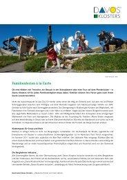 Familienferien à la carte (PDF 870 KB) - Davos