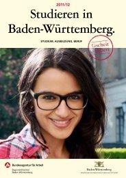Studieren in Baden-Württemberg. - Ministerium für Wissenschaft ...
