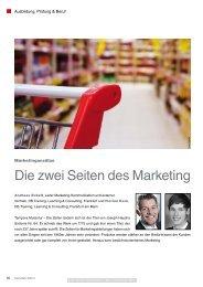 Die zwei Seiten des Marketing - DB Training