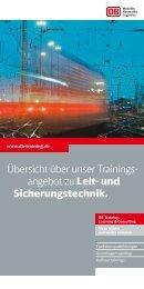 PDF herunterladen - DB Training