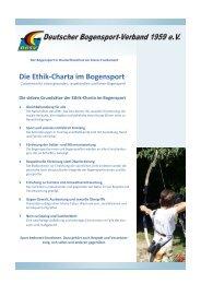 Ethik- Charta Stand - Deutscher Bogensportverband 1959 e.V.