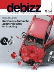 Rumäniens Automobil- Zulieferindustrie im Sturzflug - Debizz
