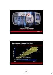 Oracles Mobiler Hintergrund - bei Connect Deutschland