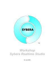 Workshop Sybera Realtime Studio