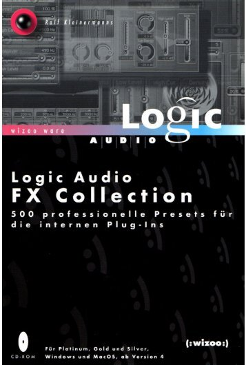 emagic logic audio v4.0 fx collection by wizoo de.pdf - Deep!sonic