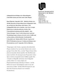 Presseinfo (PDF) - Degum
