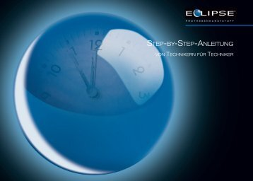 Eclipse Stey by Step Anleitung - DeguDent GmbH