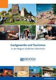 7) Gastgewerbe und Tourismus in der Region Südlicher ... - Dehoga