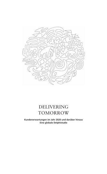 Kundenerwartungen im Jahr 2020 - Delivering Tomorrow