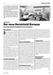 """""""Stuttgart 21"""": Der neue Herzinfarkt Europas - derFahrgast"""