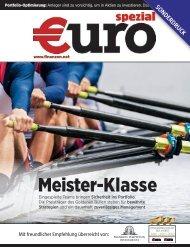 Klicken Sie hier für einen Sonderdruck der Zeitschrift €uro spezial