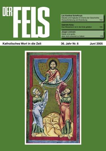 Juni 2005 - Der Fels