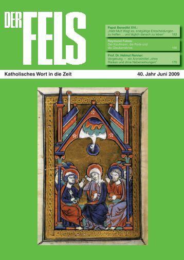 FELS Juni 2009.indd - Der Fels