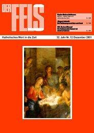 Dezember 2001 - Der Fels