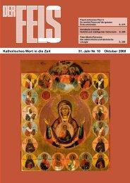 Oktober 2000 - Der Fels