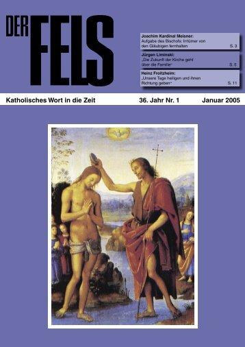 Januar 2005 - Der Fels