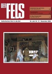 Dezember 2005 - Der Fels