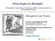Biologika in der Praxis - Dermatologische Praxis und Haarcenter ...