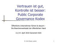 Public Corporate Governance Kodex